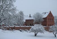 Alte Burg im Winter