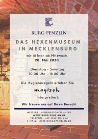 Burg Penzlin Mai 2020